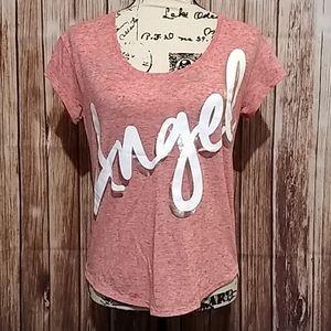 Victoria's Secret scoop neck Angel t shirt
